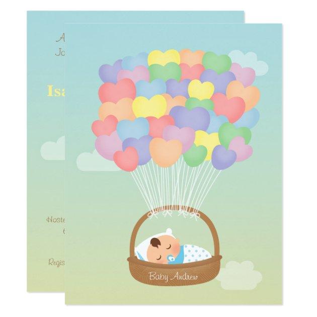 Design Custom Baby Invitations Shower