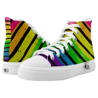 Rainbow LGBT Pride Printed Shoes