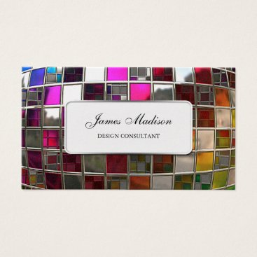 Rainbow Mirror Sequence Business Card