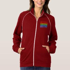 Rainbow Mosaic Gay Pride Flag Jacket
