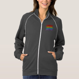 Rainbow Mosaic Gay Pride Flag (Paintbrush) Jacket