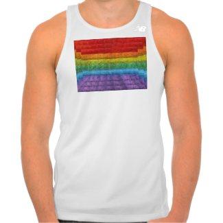 Rainbow Mosaic Gay Pride Flag T-shirts