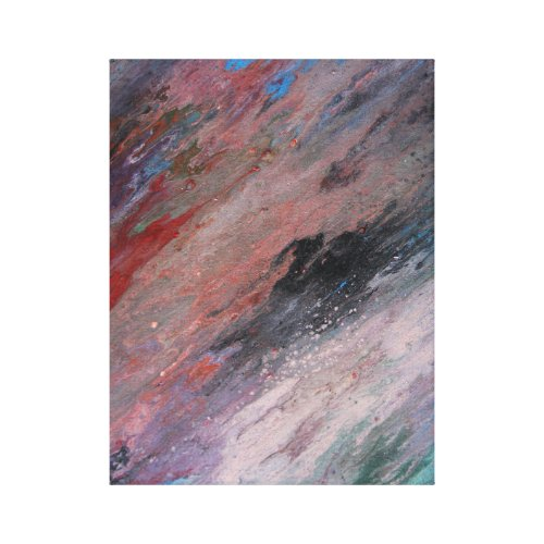 Rainbow or color canvas print