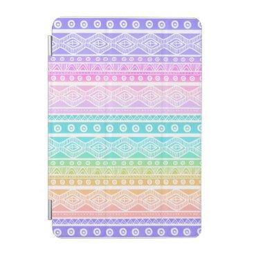 Rainbow Pastels Girly Aztec Tough iPad Mini Case