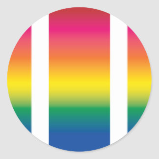 Rainbow Spectrum Blocks Sticker