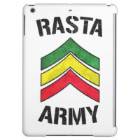 Rasta army iPad air cover