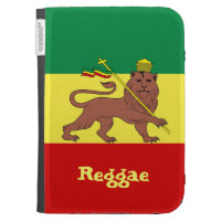 Rasta Reggae Lion of Judah Kindle Keyboard Cases