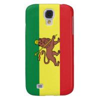 Rastafarian Flag Samsung Galaxy S4 Cover