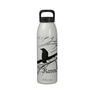 Raven Bottle by Alexandra Cook Reusable Water Bottles