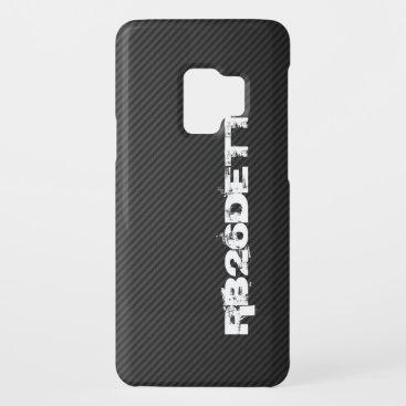RB26DETT on faux carbon fiber Case-Mate Samsung Galaxy S9 Case