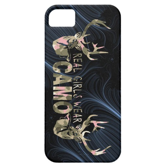 REAL GIRLS WEAR CAMO iPhone SE/5/5s CASE