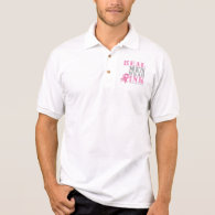 Real Men Wear Pink Polo T-shirts