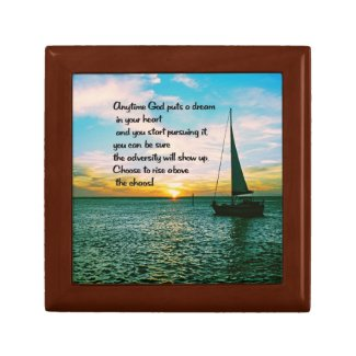 Realize your dreams keepsake boxes