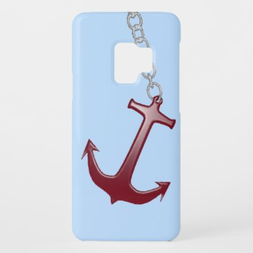 Red Anchor Case-Mate Samsung Galaxy S9 Case