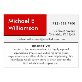 resume business cards amp templates zazzle