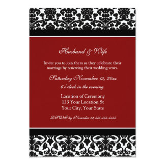 Wedding Vow Renewal Invitations To Inspire You On How Create Your Own Invitation 5