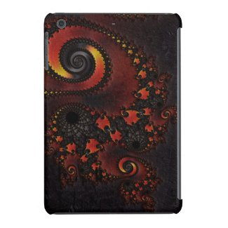 Red Dragon Fractal Ipad Air Barely There case iPad Mini Retina Cover