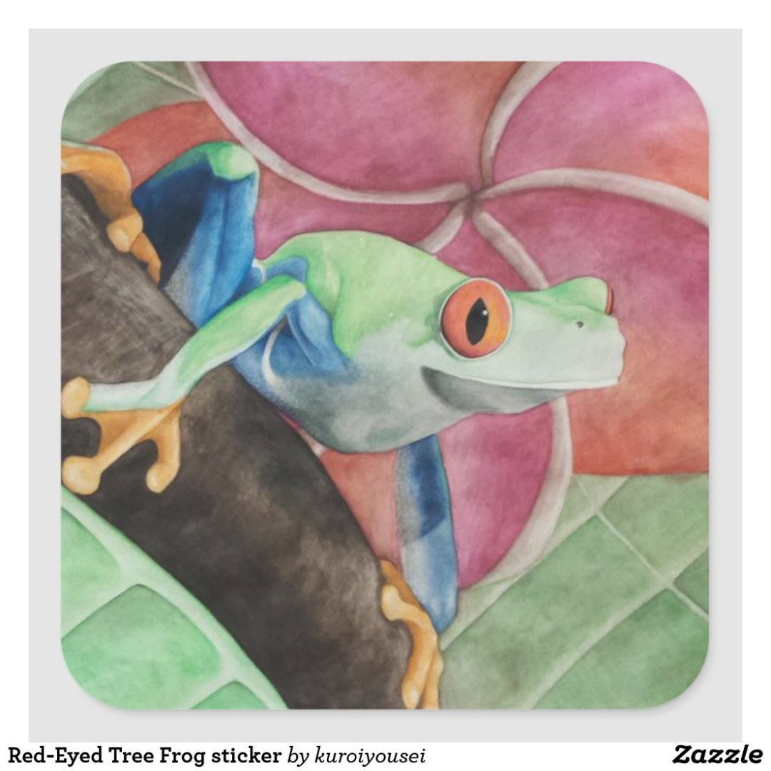 Red-Eyed Tree Frog sticker