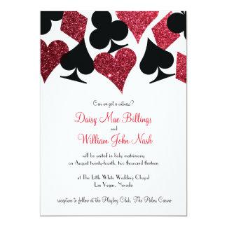 Modern Diy Las Vegas Wedding Invitations