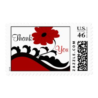 Red flower - Postage