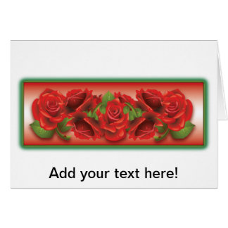 Red Roses Montage Cards
