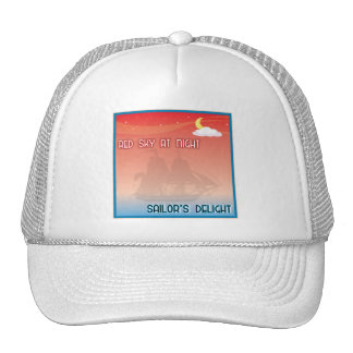 Red Sky At Night Hat