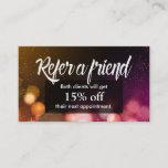 Referral Card | Modern Sparkles Salon Spa