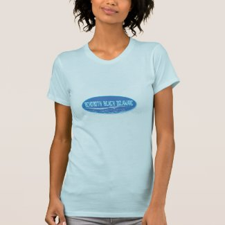 Rehoboth Beach Delaware In The Waves T Shirt