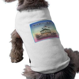 Rehoboth Beach Delaware - Rehoboth Ave Scene Doggie Shirt