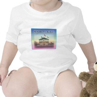 Rehoboth Beach Delaware - Rehoboth Ave Scene Baby Creeper
