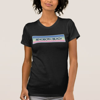 Rehoboth Beach Pastel Rainbow Style 1 Tee Shirts