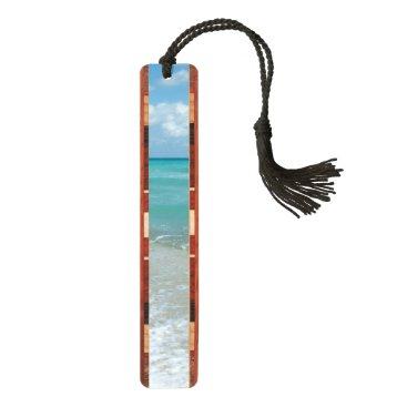 Relaxing Blue Beach Ocean Landscape Nature Scene Bookmark