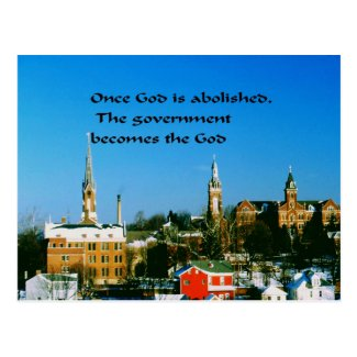 Religion Postcard