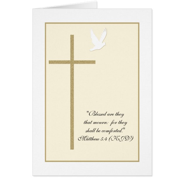 Cross Baptism Invitations