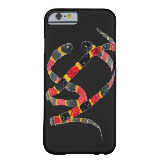 Reptile Art Twisting Snakes Barely There iPhone 6 Case