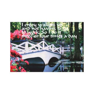 Retirement Canvas Print