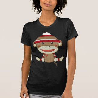Retro Sock Monkey Shirt