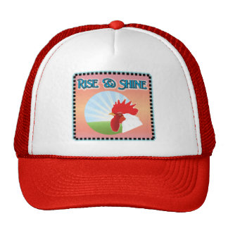 Rise and Shine Rooster Hat