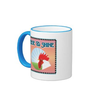 Rise and Shine Rooster Mug
