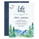 Rocky Mountain I Do BBQ Rehearsal Dinner Invitation