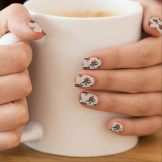 Rodeo Cowboy Western Boots Horse Country Minx Nail Art