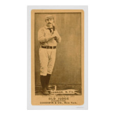 Roger Connor Baseball 1887 Poster