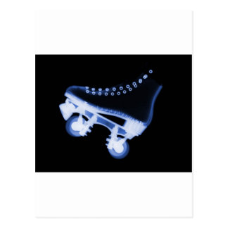 Roller Skate Xray Postcards