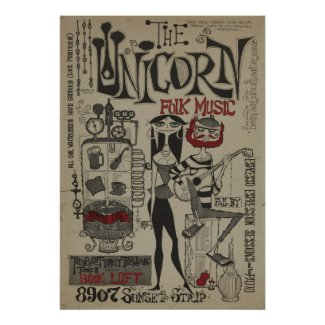 Rolly Crump Beatnik Poster