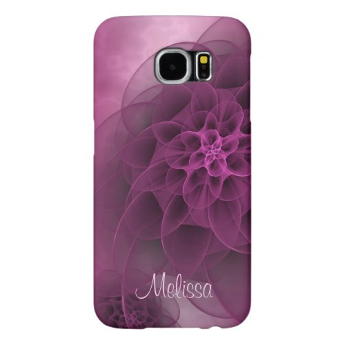 Romantic Blooms in Wine Samsung Galaxy S6 Cases