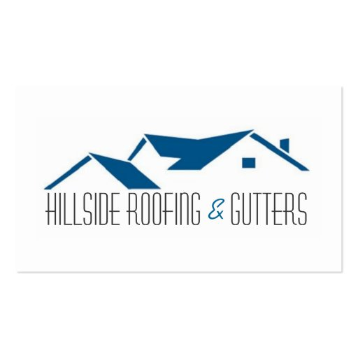 Roofing Gutters Construction Business Card Zazzle