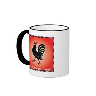 Rooster Attitude Coffee Mug