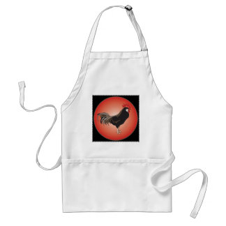 Rooster Showcase Aprons
