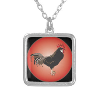 Rooster Showcase Custom Necklace