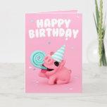 ❤️ Rosa The Pig Happy Birthday Card